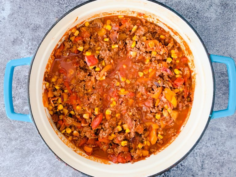 The Best Freezer Meal Chili You Ever Had!