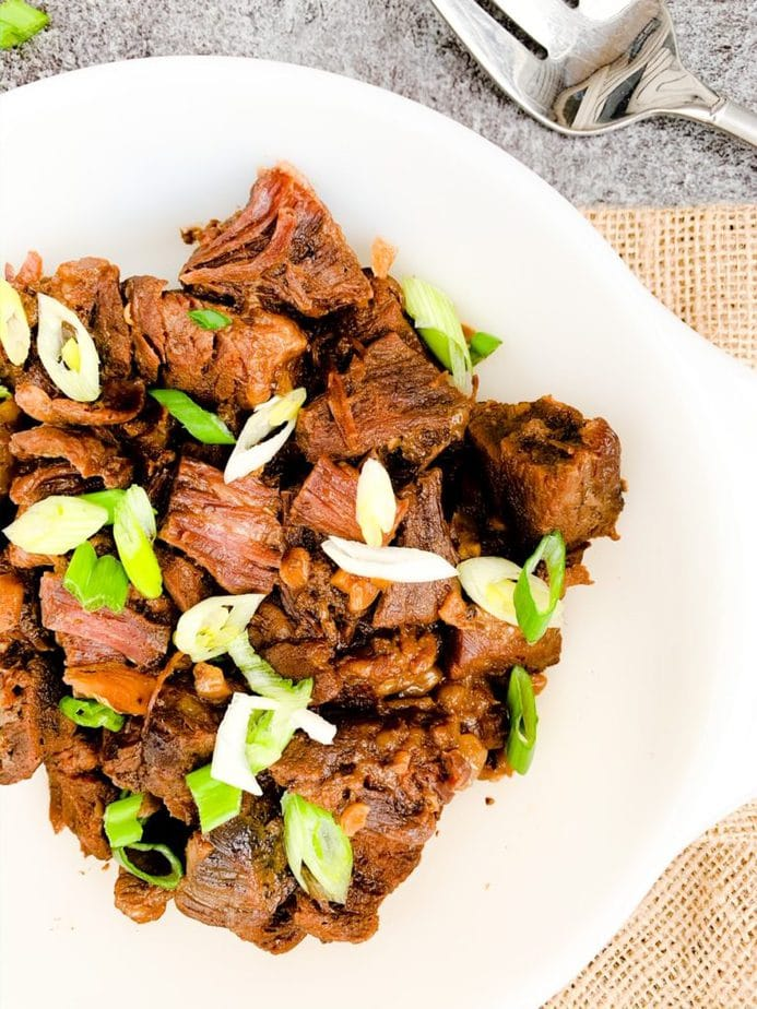 Slow Cooker Korean Beef   Fast and Easy Dinner Recipe   Slow Cooker Beef Dinner   Korean Beef