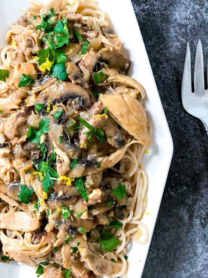Slow Cooker Chicken Marsala | Pressure Luck Chicken Marsala | Chicken marsala instant pot | crock pot chicken marsala | crock pot chicken marsala without wine | chicken crock pot recipes } easy chicken marsala