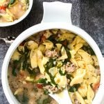 Slow Cooker Tuscan Tortellini Soup
