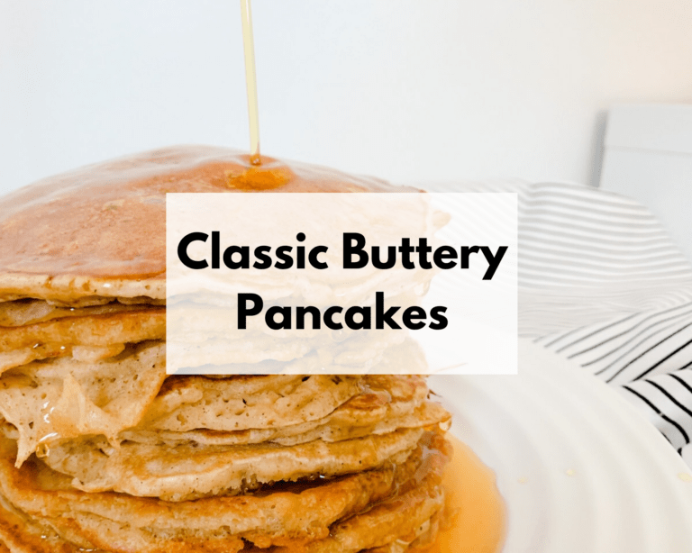 Fluffy Buttery Pancakes Freezer Meal