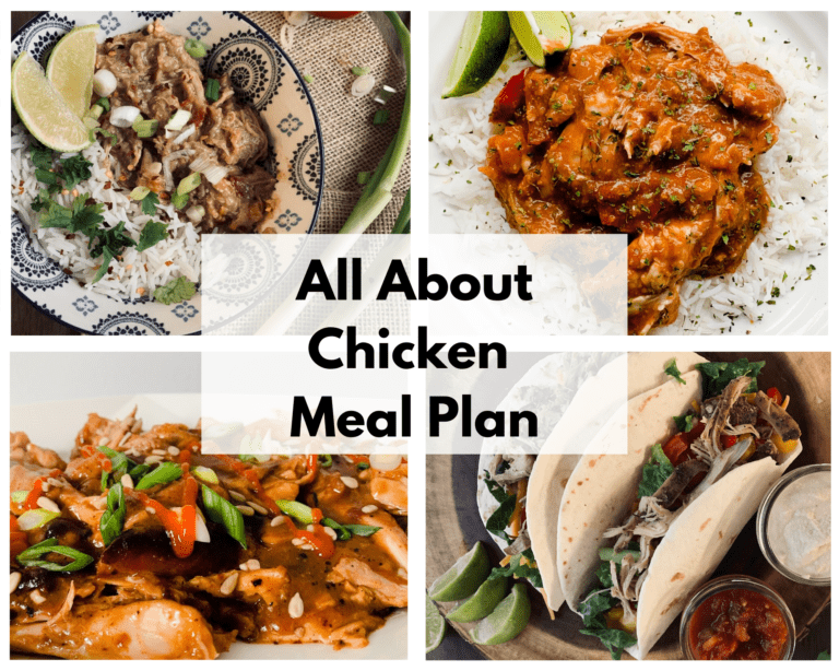 All About Chicken Meal Plan