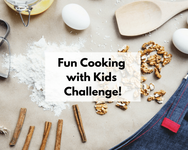Fun Cooking with Kids Challenge