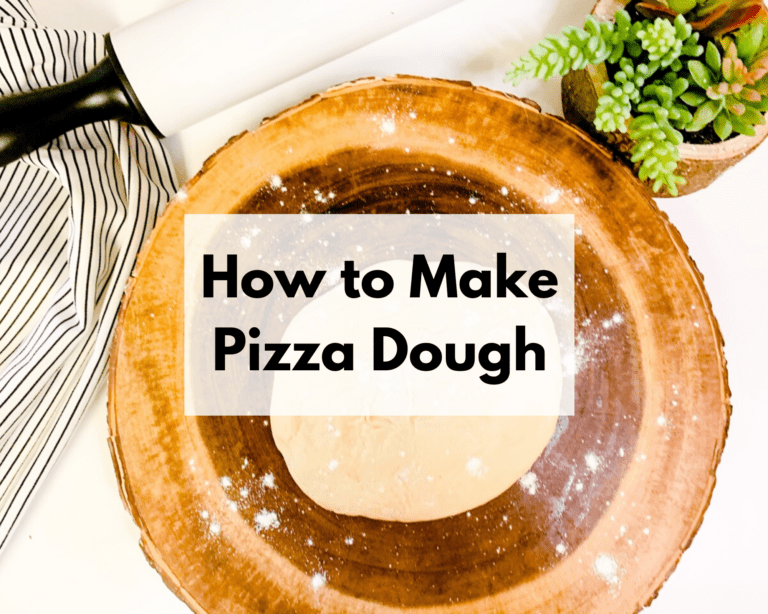 How to Freeze and Make Pizza Dough