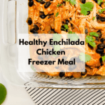 Slow Cooker Chicken Enchiladas Bowl
