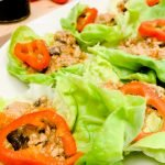: Easy chicken lettuce wraps | chicken breasts lettuce wraps | healthy chicken lettuce wraps | thai chicken lettuce wraps | healthy turkey lettuce wraps | what to serve with lettuce wraps