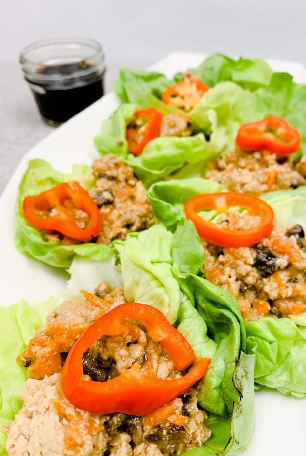 : Easy chicken lettuce wraps   chicken breasts lettuce wraps   healthy chicken lettuce wraps   thai chicken lettuce wraps   healthy turkey lettuce wraps   what to serve with lettuce wraps