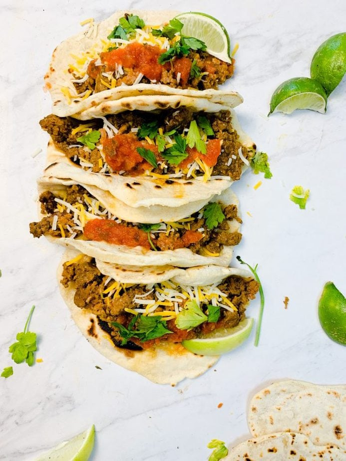 Slow cooker shredded beef tacos | Slow cooker beef with taco seasoning | Crock pot taco meat for a crowd | Beef tacos | Beef tacos slow cooker | Beef Tacos crock pot | Slow cooker beef with taco seasoning
