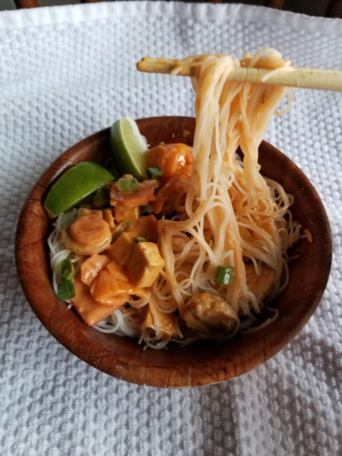 Red Thai Coconut Curry